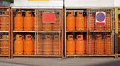Gas cylinders LPG — Stock Photo