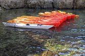 Kayaks — Stock Photo