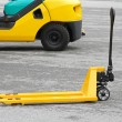 Manual pallet jack — Stock Photo #21559889