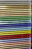 Aluminum blinds — Stock Photo