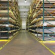 Building materials warehouse - Foto Stock