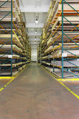 Building materials warehouse — Stock Photo