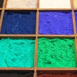 Stock Photo: Pigment powder