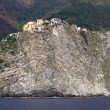 Corniglia rock — Stockfoto