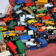 Toy cars — Stock fotografie