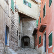 Stairway Rovinj — Stock Photo