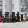 Forklifts — Stock Photo