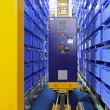 Automated storage warehouse - Stock Photo