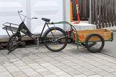 Cargo bicycle — Stock Photo