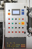 Machine control panel — Stock Photo