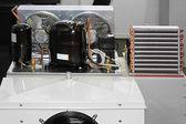 Unidade do compressor de refrigeração — Foto Stock