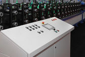 Rollforming machine — Stock Photo