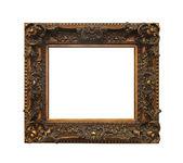 Bronze frame isolated — Stock Photo