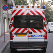 Stock Photo: Police van