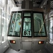 Silver skytrain — Stock Photo