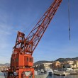 Port crane — Stock Photo