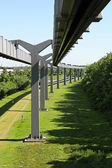 Skytrain mono rails — Stock Photo