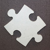 One puzzle piece — Stock Photo