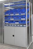 Storage shelf — Stock Photo
