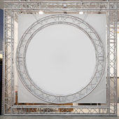Round truss stage — Stock Photo