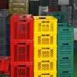 Plastic crates — Stock Photo #24403109
