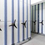High Density Shelves — Stock Photo