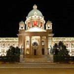 Parliament building Serbia — Stock Photo #24563255