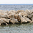 Breakwater — Stock Photo