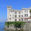 The Miramare Castle - Stock Photo