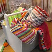 Toallas de color — Foto de Stock