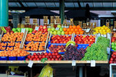 Fruits stand — Stock Photo