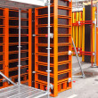 Scaffolding formwork — Stock Photo