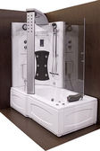 Shower and bathtub — Stock Photo