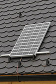 Solar instalation — Stock Photo
