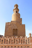 Ibn Tulun Spiral Minaret — Stock Photo