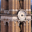 Clock tower Rome — Stock Photo