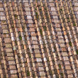 Roman roof tiles — Stock Photo