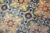 Medieval Roman tiles — Stock Photo