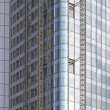 Glass skyscraper construction — Stock Photo