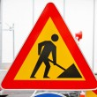 Road works sign — Stock Photo #25652059