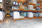 Logistic warehouse — Stock Photo