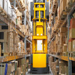Stockfoto: High rack stacker forklift
