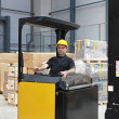 Forklift driver — Stock Photo #26254481