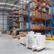 Distribution warehouse — Stockfoto