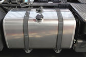 Truck fuel tank — Stock Photo