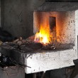 Blacksmith forge — Stock Photo