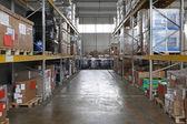 Storage shelving — Stock Photo