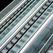 Stock Photo: Escalator side