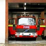 Fire truck — Stock Photo