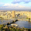 Cairo aerial — Stock Photo
